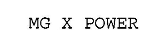MG X POWER