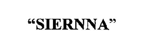 """""""SIERNNA"""""""