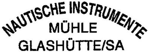 NAUTISCHE INSTRUMENTE MÜHLE GLASHÜTTE/SA