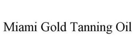 MIAMI GOLD TANNING OIL