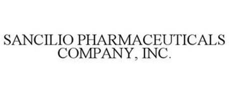 SANCILIO PHARMACEUTICALS COMPANY, INC.
