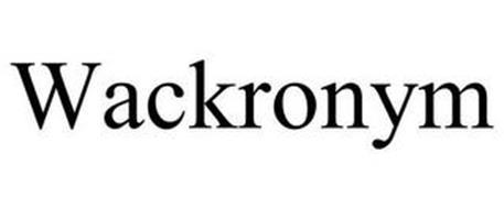 WACKRONYM