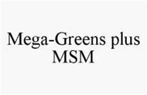 MEGA-GREENS PLUS MSM