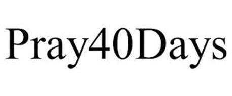 PRAY40DAYS