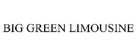 BIG GREEN LIMOUSINE