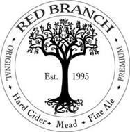 RED BRANCH ORIGINAL PREMIUM EST 1995 HARD CIDER MEAD FINE ALE
