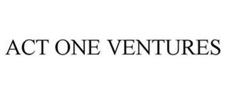 ACT ONE VENTURES