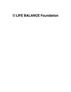 LIFE BALANCE FOUNDATION