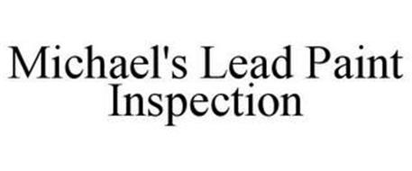 MICHAEL'S LEAD PAINT INSPECTION