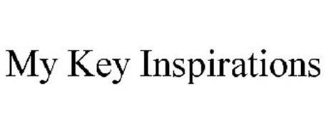 MY KEY INSPIRATIONS