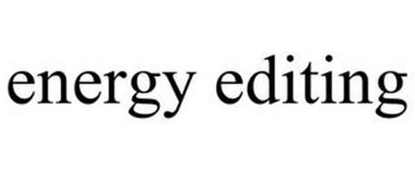 ENERGY EDITING