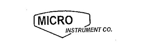 MICRO INSTRUMENT CO.