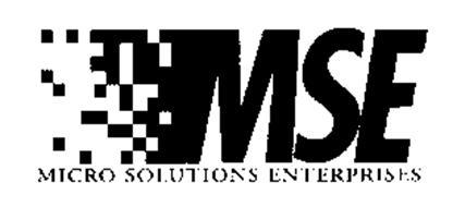 MSE MICRO SOLUTIONS ENTERPRISES