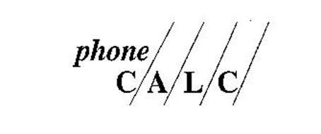PHONE CALC