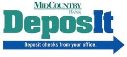 MIDCOUNTRY BANK DEPOSIT DEPOSIT CHECKS FROM YOUR OFFICE