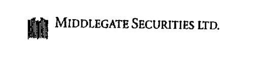 MIDDLEGATE SECURITIES LTD.