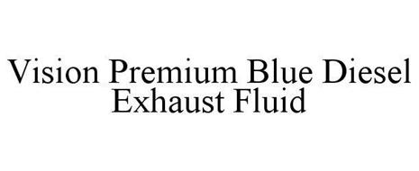 VISION PREMIUM BLUE DIESEL EXHAUST FLUID