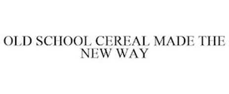 OLD SCHOOL CEREAL MADE THE NEW WAY