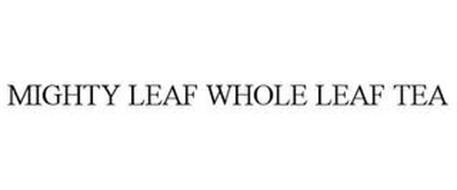 MIGHTY LEAF WHOLE LEAF TEA