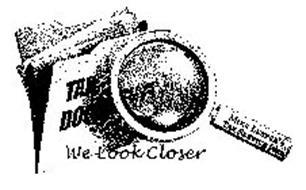 WE LOOK CLOSER TAX DOCUMENTS MIKE LEEPER'S TAX SERVICE INC.