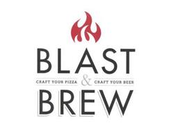 BLAST & BREW CRAFT YOUR PIZZA CRAFT YOUR BEER