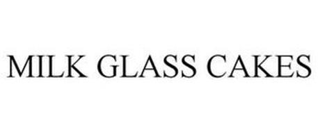 MILK GLASS CAKES