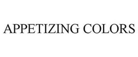 APPETIZING COLORS