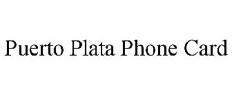 PUERTO PLATA PHONE CARD