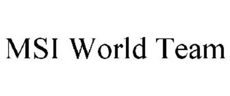 MSI WORLD TEAM