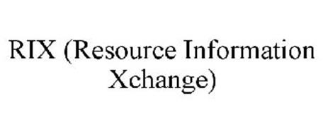 RIX (RESOURCE INFORMATION XCHANGE)