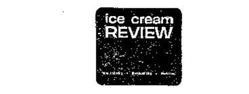 ICE CREAM REVIEW MANUFACTURING MERCHANDISING MARKETING