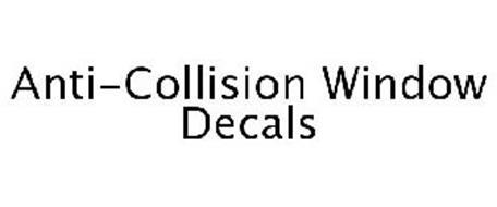 ANTI-COLLISION WINDOW DECALS