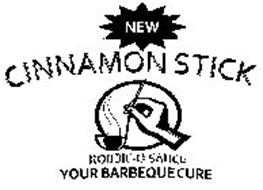 NEW CINNAMON STICK ROBBIE-Q SAUCE YOUR BARBEQUE CURE