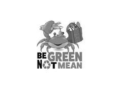 OSKAR BAG BE GREEN NOT MEAN