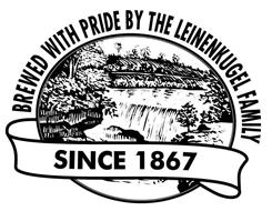 BREWED WITH PRIDE BY THE LEINENKUGEL FAMILY SINCE 1867