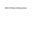 DISCOVERISK MILLHISERSMITH