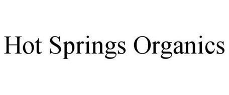 HOT SPRINGS ORGANICS