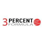 3 PERCENT FORMULA