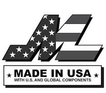 M MADE IN USA WITH U.S. AND GLOBAL COMPONENTS