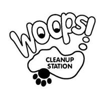 WOOPS! CLEANUP STATION