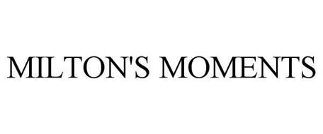 MILTON'S MOMENTS