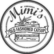 MIMI'S OLD FASHIONED CATSUP