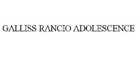 GALLISS RANCIO ADOLESCENCE