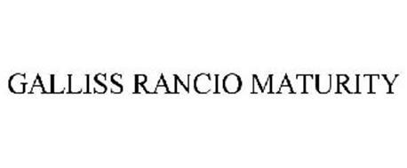 GALLISS RANCIO MATURITY