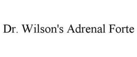 DR. WILSON'S ADRENAL FORTE
