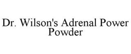 DR. WILSON'S ADRENAL POWER POWDER