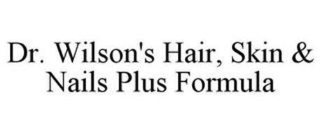 DR. WILSON'S HAIR, SKIN & NAILS PLUS FORMULA