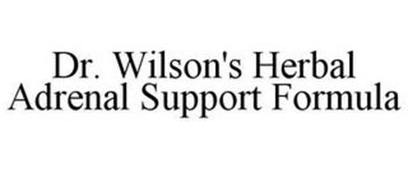 DR. WILSON'S HERBAL ADRENAL SUPPORT FORMULA