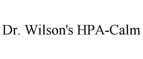 DR. WILSON'S HPA-CALM
