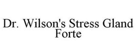 DR. WILSON'S STRESS GLAND FORTE